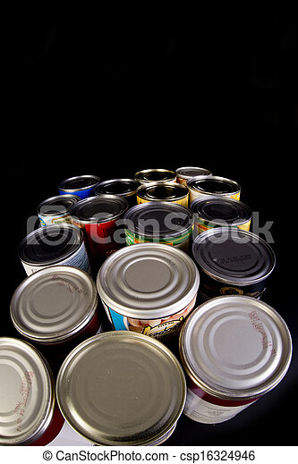 cans., 錫 - csp16324946