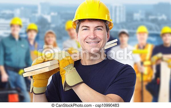 carpenter., 工人 - csp10990483