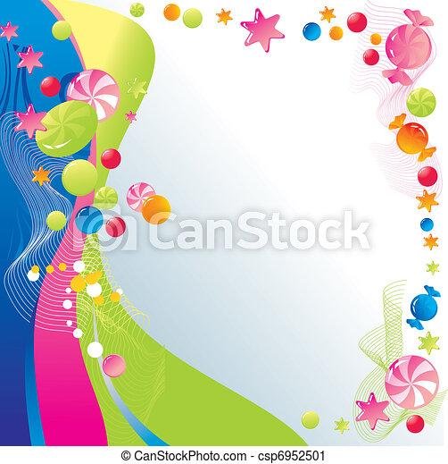 celebratory, 甜, 設計 - csp6952501