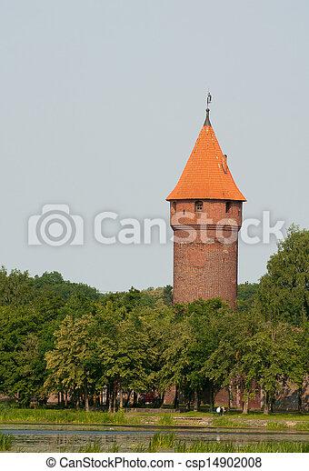 malbork, 城堡 - csp14902008
