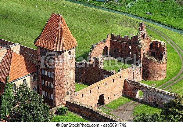 malbork, 城堡 - csp5091749