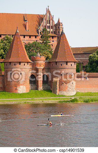 malbork, 城堡 - csp14901539