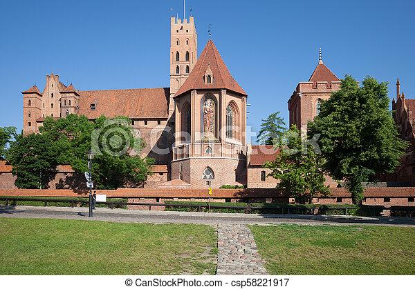 malbork, 城堡 - csp58221917
