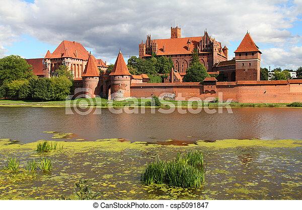 malbork, 波蘭, - - csp5091847
