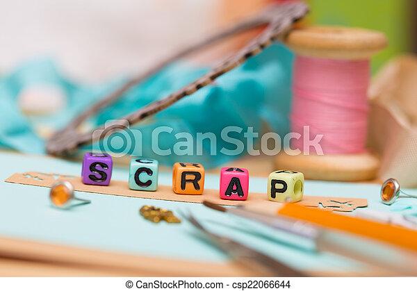 scrapbooking - csp22066644