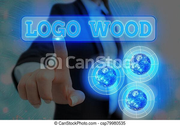 wood., 木頭, 概念, 提供, 或者, 符號, 元素, 書法, 寫上, 公司, nasa., 標識語, 圖像, 可認識, 這, 意思, 寫, 正文, 設計 - csp79980535